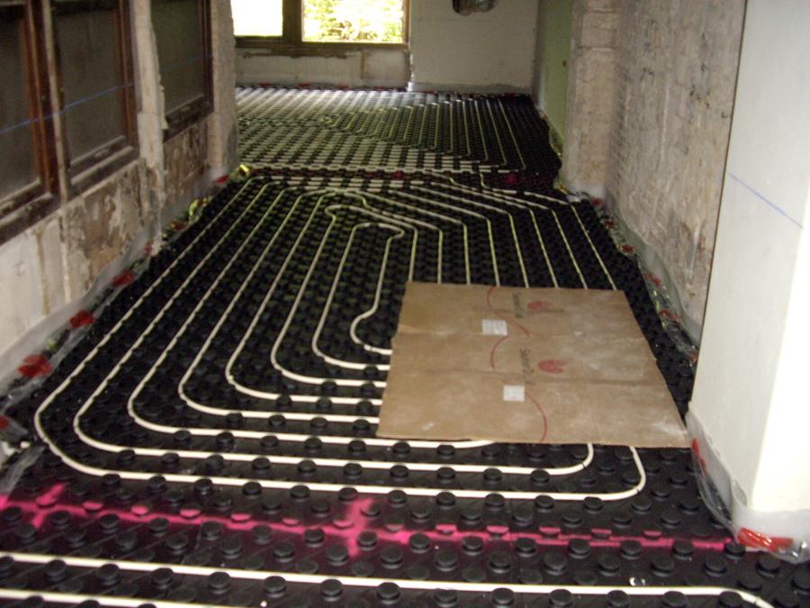Foto calefacci n por suelo radiante de instalaciones - Suelo radiante aerotermia opiniones ...