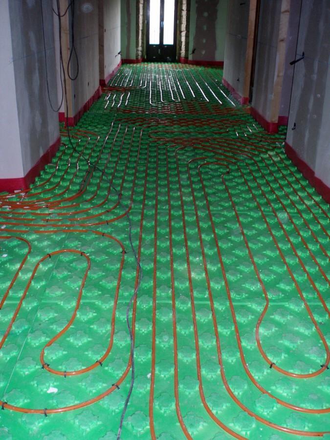 Foto calefaccion por suelo radiante de construcciones - Calefaccion por hilo radiante ...
