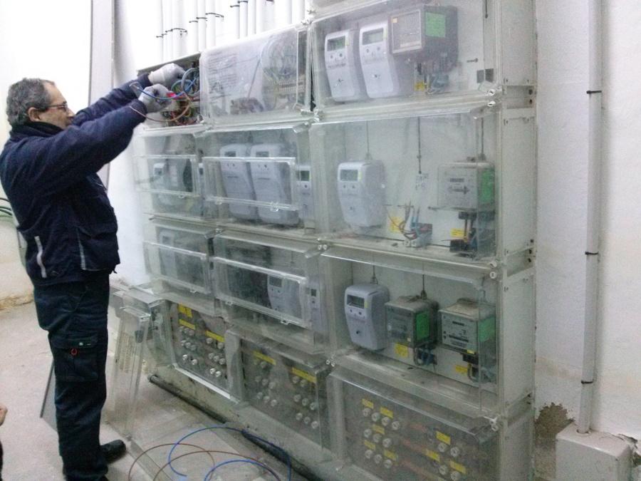 Preparando la instalación de un contador