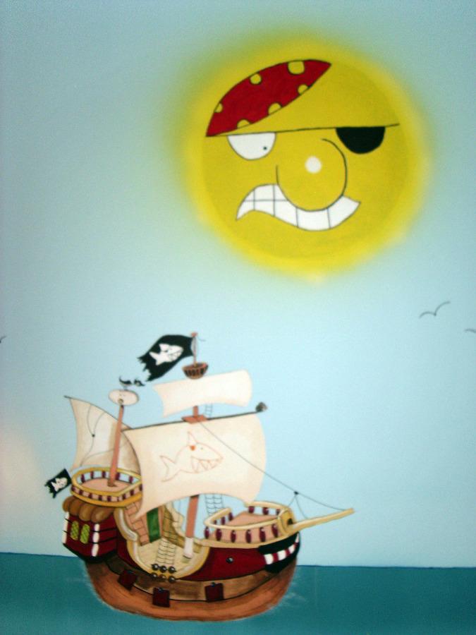 Foto cama barco pirata de mil tendencias 139340 - Cama barco pirata ...