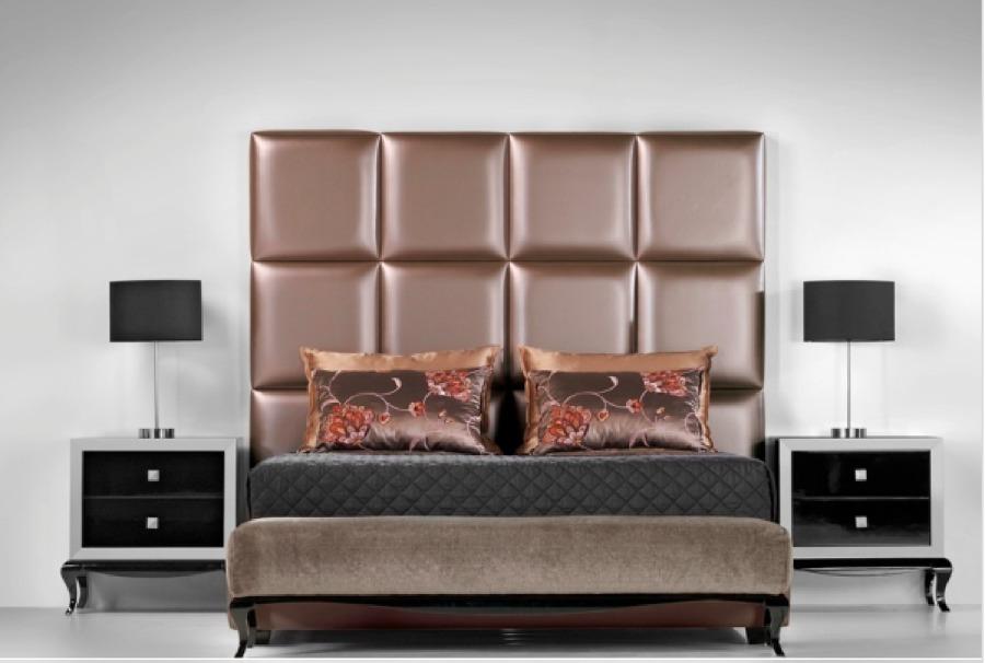 Foto cama tapizada de zen dec 431251 habitissimo for Cama tapizada