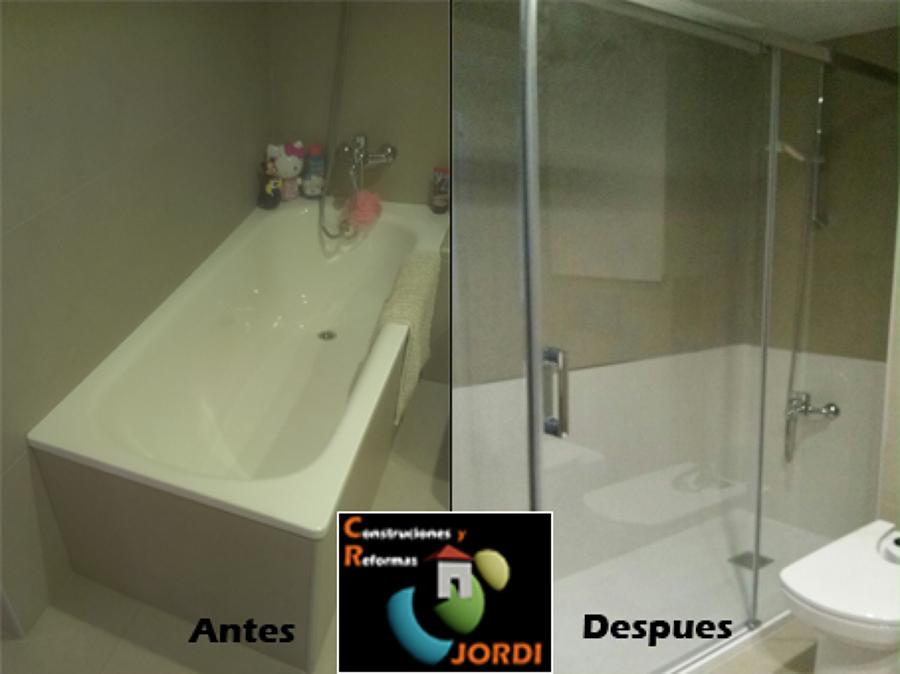 Foto cambio ba era por plato de ducha de construcciones y - Cambio plato de ducha por banera ...