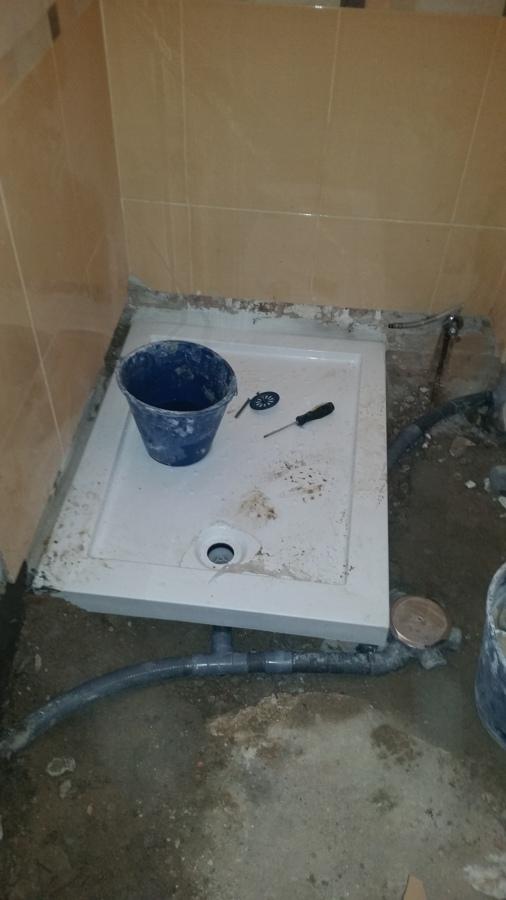 Foto cambio ba era por plato de ducha de reformas rapido for Banera plato de ducha
