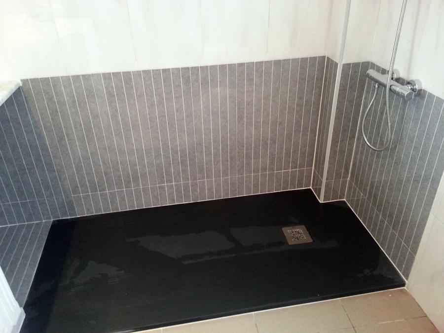 foto cambio de ba era por plato ducha de instalaciones ForBanera Plato De Ducha
