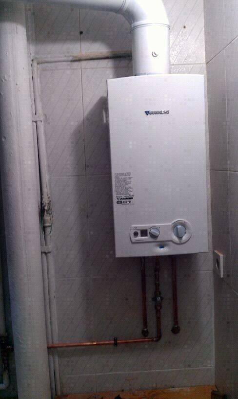 Cambio de calentador estanco