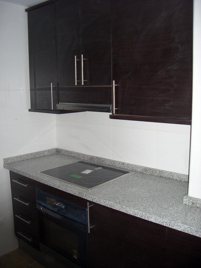 Cambio de muebles de cocina y electrodomésticos