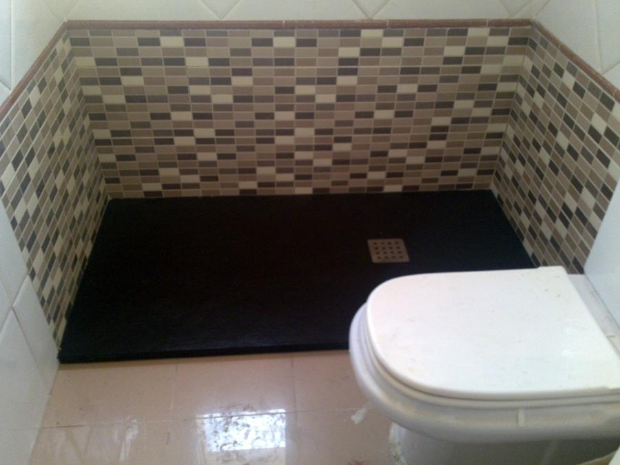 Cambio de plato de ducha 3  terminado