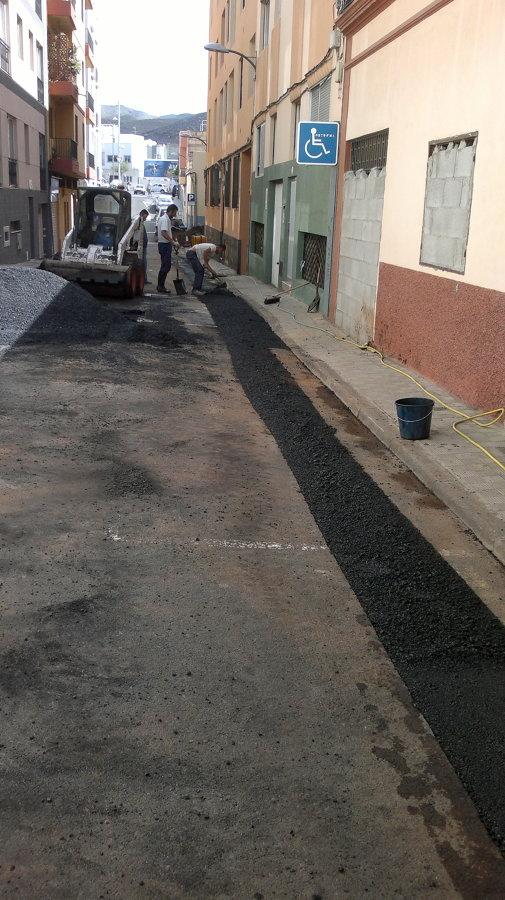 Canalizacion Calle El Viento