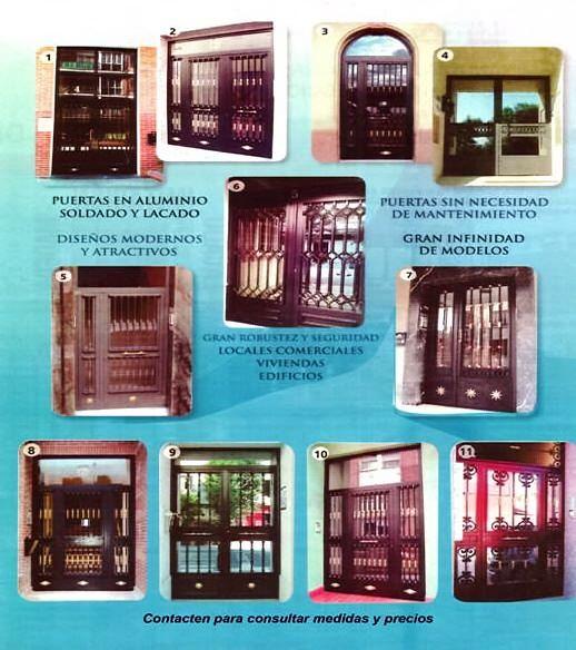 Foto cancelas de hierro de vidrios y aluminios crystalmar - Cancelas de hierro ...