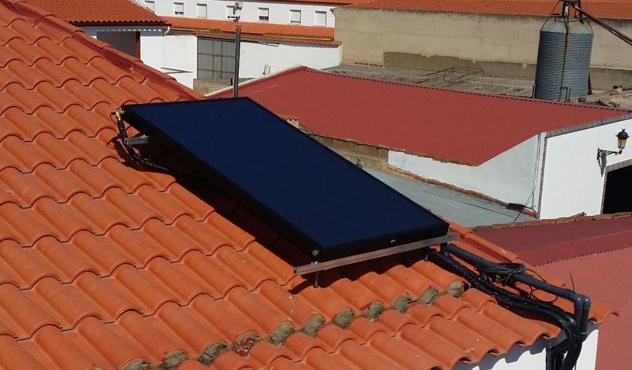 Colector solar para ACS
