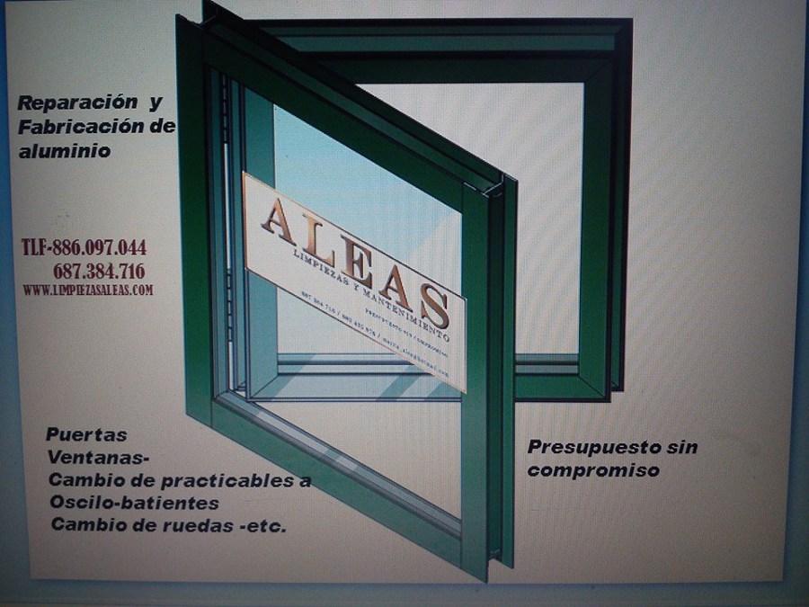 Foto carpinteria de aluminio de aleas limpiezas 530863 - Carpinteria de aluminio en vigo ...