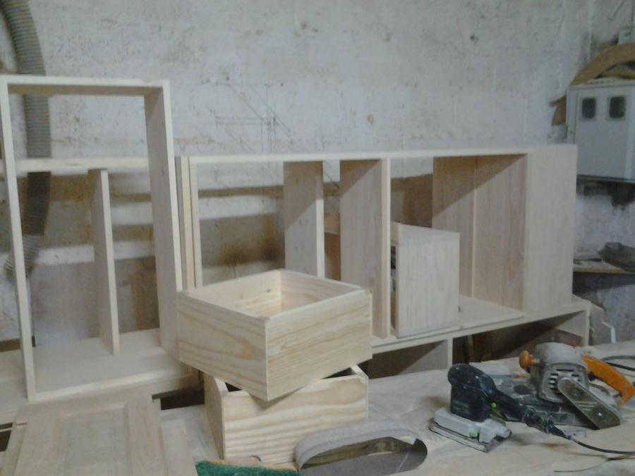 Foto carpinteria modulos y cajones de cocina de for Modulos de cocina precios