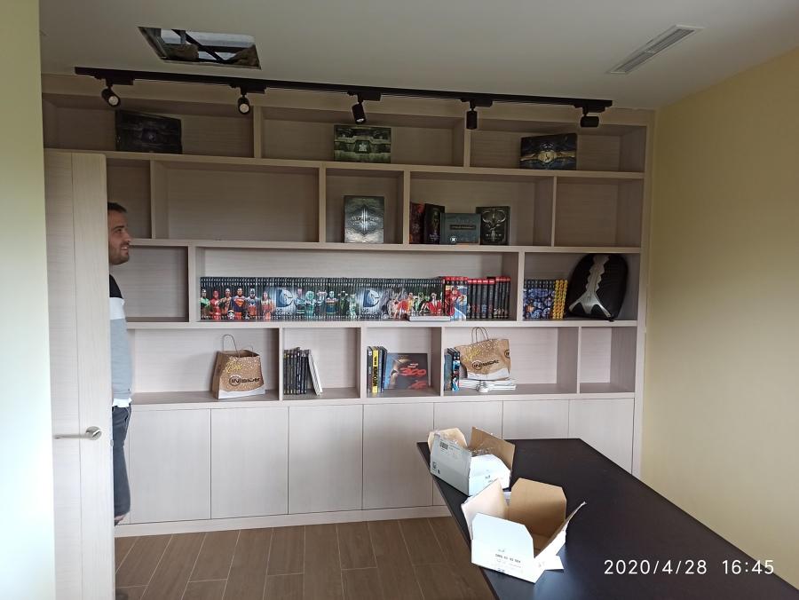 carril iluminación libreria