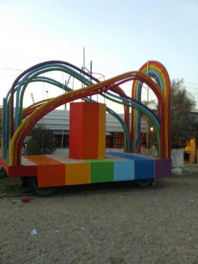 Foto carroza para carnaval de dnc pintores 642043 - Pintores en leganes ...