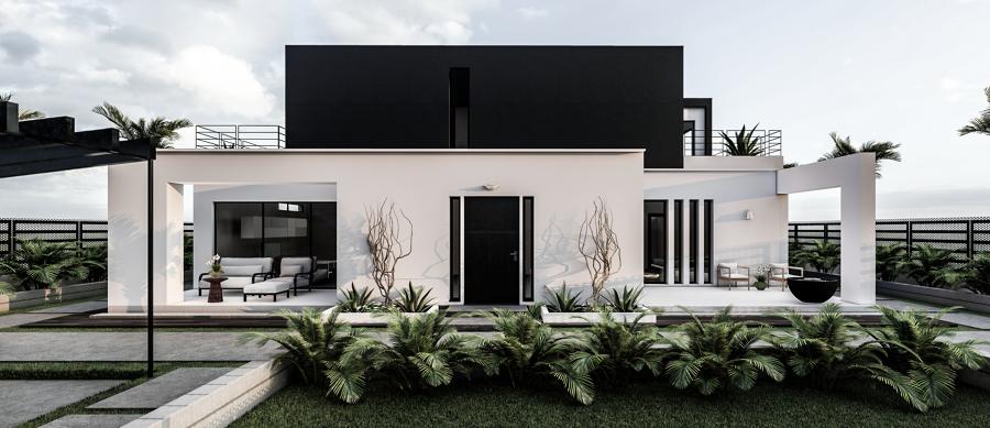 Proyecto vivienda Bétera Vista exterior 1
