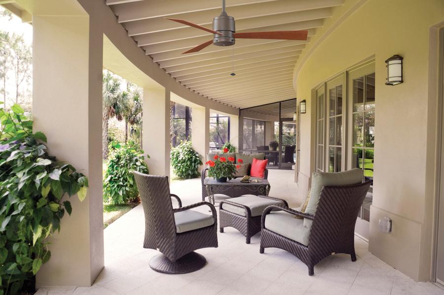 Foto casa bruno zonix ii ventilador de techo bronce antiguo para zonas mojadas de casa bruno - Ventiladores de techo antiguos ...