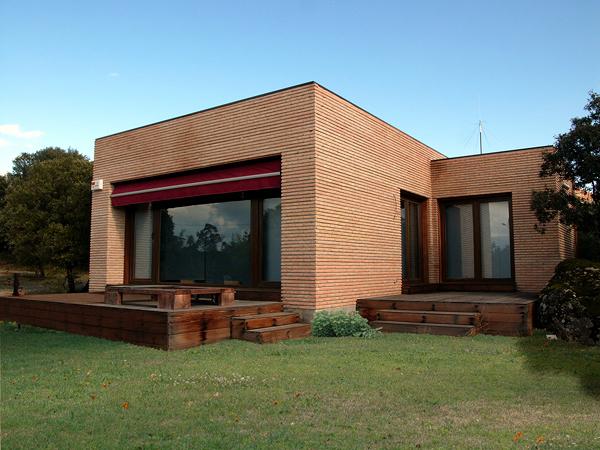 Casas de ladrillo rustico amazing ladrillo aparente en frentes with casas de ladrillo rustico - Casa de ladrillos ...
