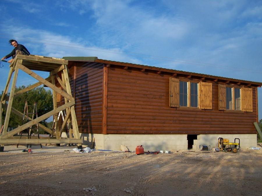 Foto casa de madera en la playa de proyectos en madera - Casas prefabricadas en las palmas ...