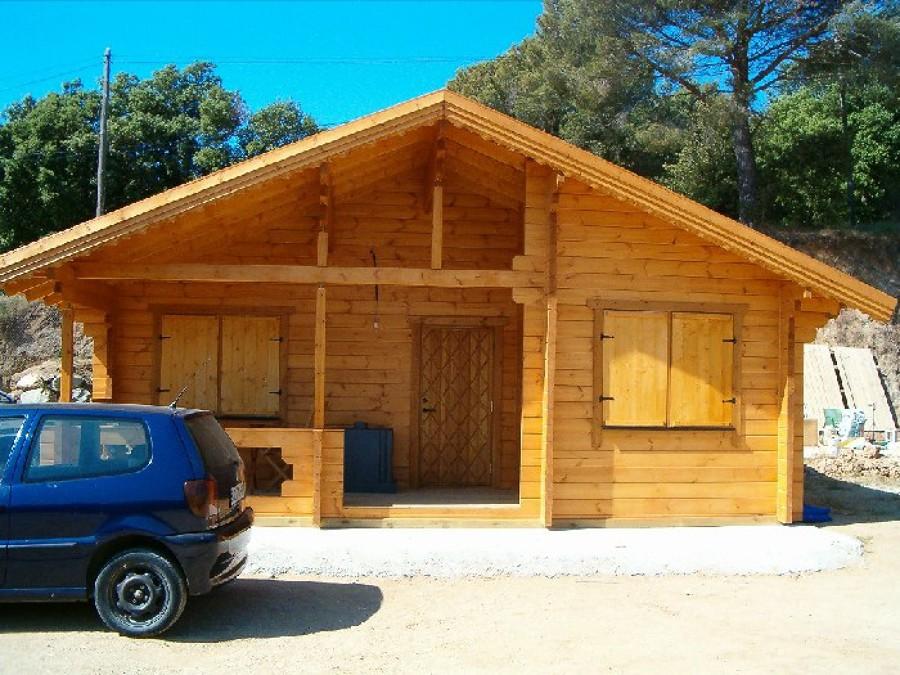 Foto casa de madera de maderas nordicas 552653 habitissimo - Casas madera nordicas ...