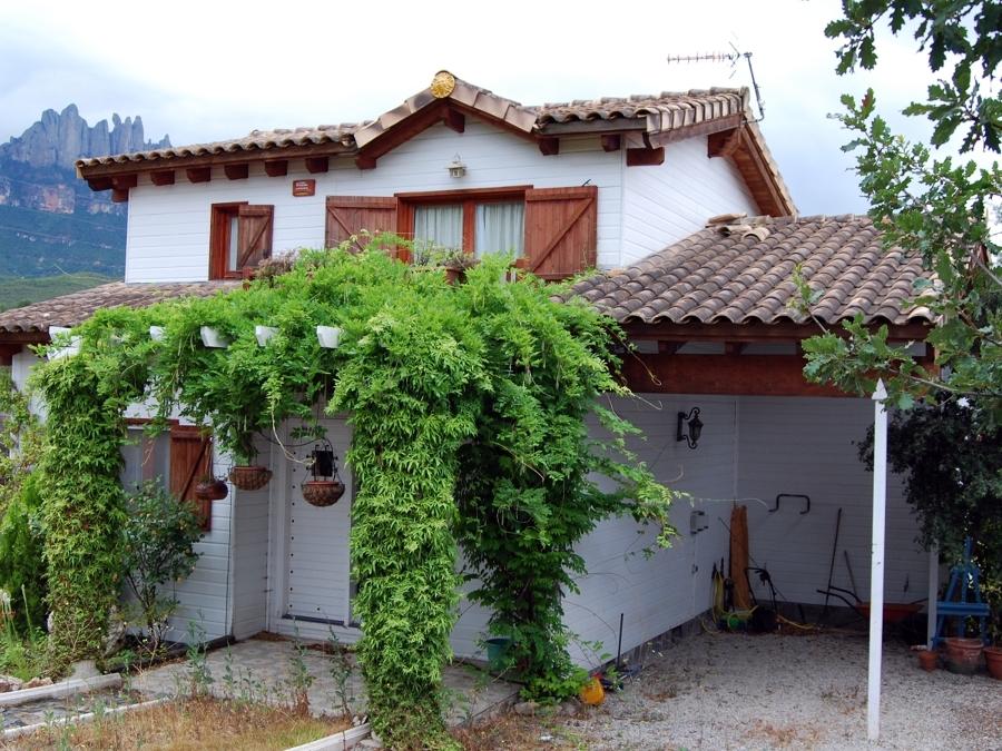Foto casa dos plantas de etj concadema sl 321296 - Casas de madera de dos plantas ...