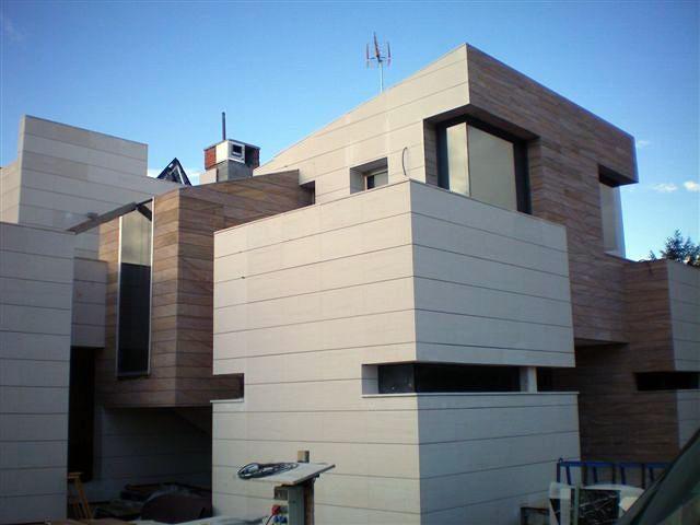 Foto casa minimalista en madrid de blanco callejo for Casa minimalista tenerife