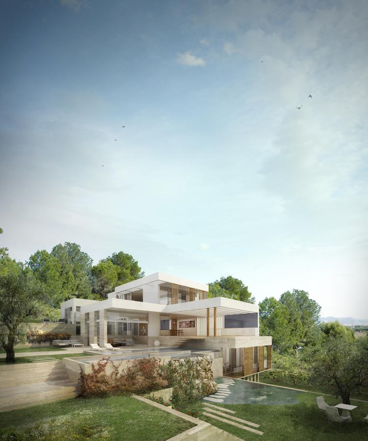 Foto casa en sitges de mendezdelpozo arquitectos scp - Arquitectos en soria ...