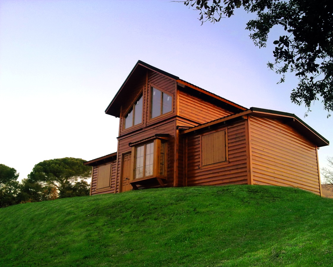 Foto casa madera basic 72 25 de casas de madera magimad - Videos casas de madera ...