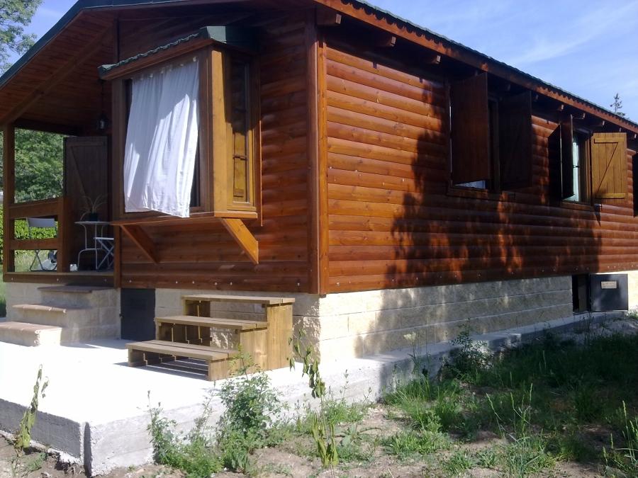 Foto casa madera basic50 de casas de madera magimad - Casas de madera zaragoza ...