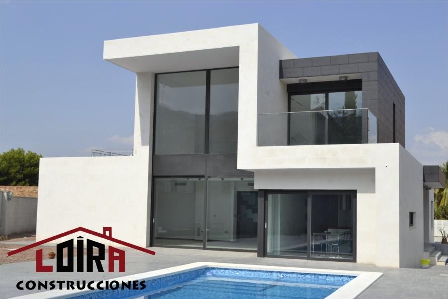 Foto casa moderna de loira construcciones 376455 for Construcciones modernas