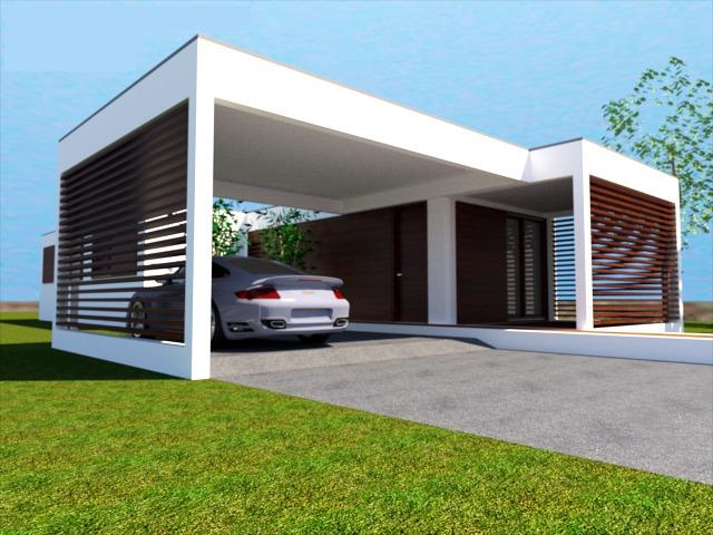 Foto casa modular prefabricada de hadit arquitectos - Casa prefabricada navarra ...