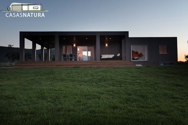 Foto casa natura blu 210 2 de casas natura 185330 - Casas prefabricadas vizcaya ...