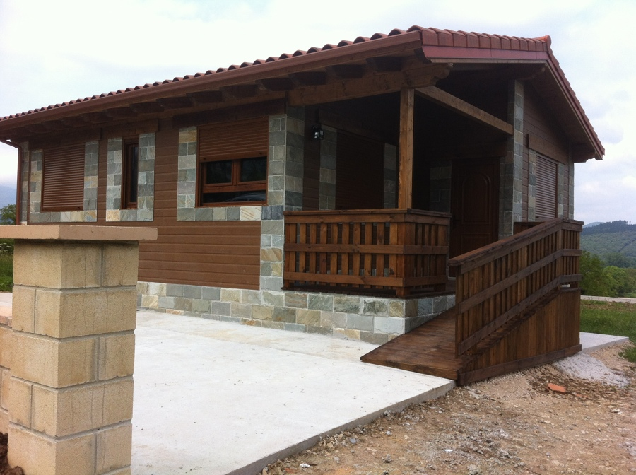 Foto casa prebaricada arabakasa en sope ano burgos de - Casas prefabricadas en pontevedra ...