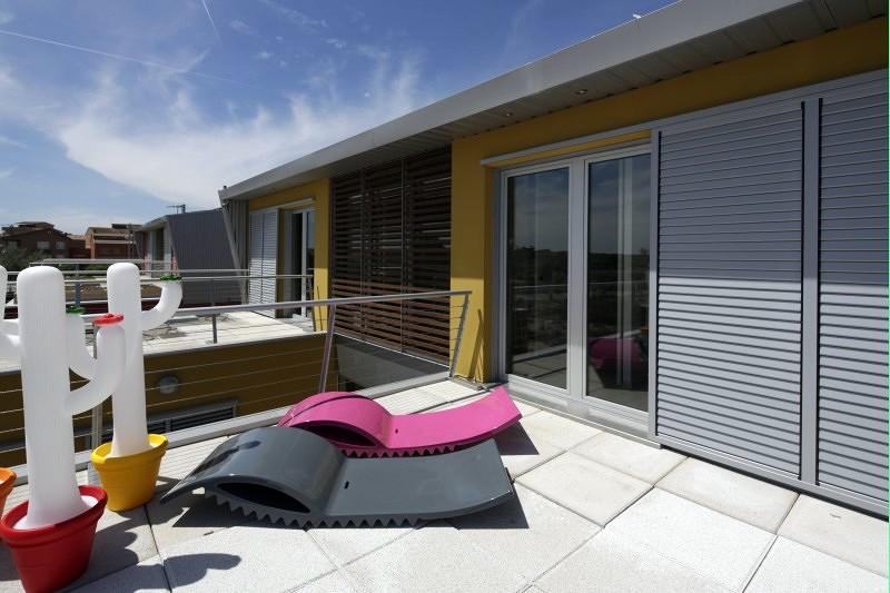 Foto casa prefabricada kyoto terraza de pmp casas pr t - Casa prefabricada navarra ...