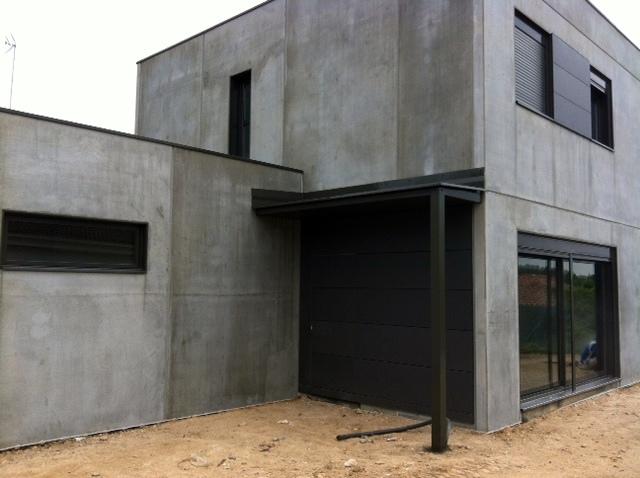 Foto casa prefabricada mo pendiente de revestir de pmp - Casa prefabricada navarra ...