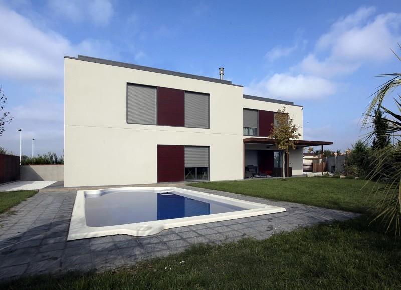 Foto casa prefabricada pro con piscina de pmp casas pr t - Casas prefabricadas zaragoza ...