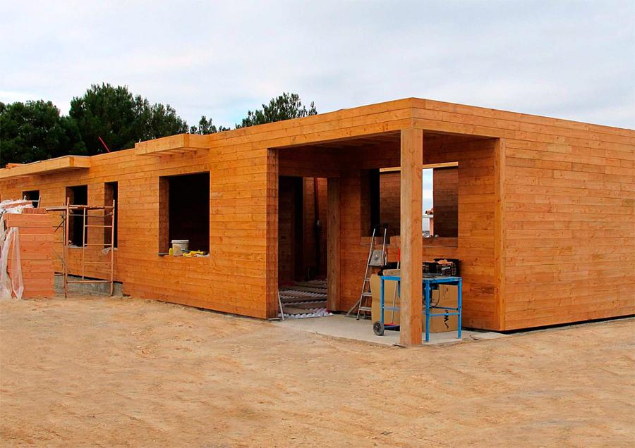 Foto casa prefabricada de montajes san roman s l 360530 - Casas prefabricadas granada ...