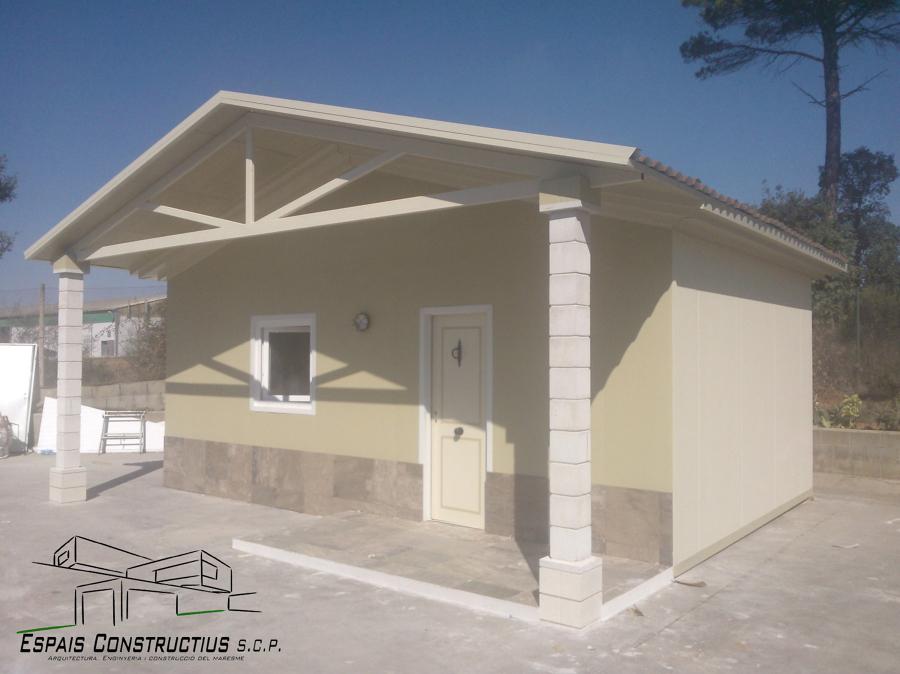 Foto casa prefabricada de espais constructius scp 535147 - Casa prefabricada asturias ...