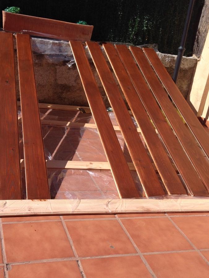 Foto caseta de madera jard n de acema00 630098 habitissimo for Caseta de jardin de madera