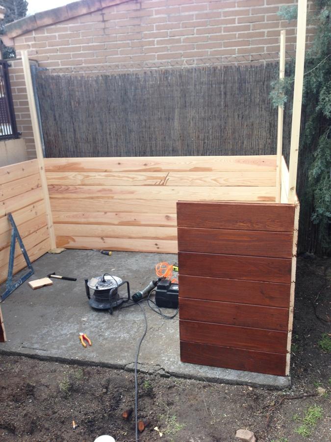 Foto caseta de madera jard n de acema00 630099 habitissimo for Caseta de jardin de madera