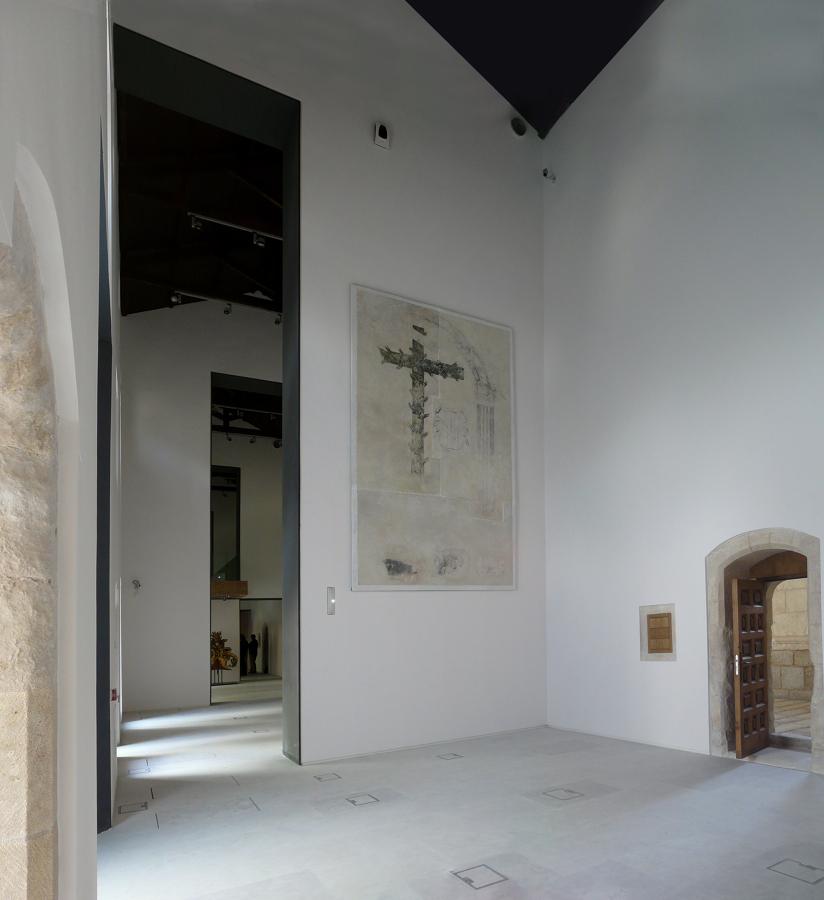 Rehabilitación de la panda oeste del Monasterio de Santa María de El Paular