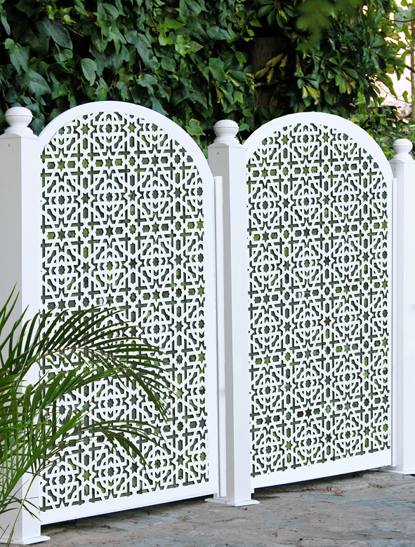 Foto celos a separador jard n de andaluciart 248531 for Celosias de jardin