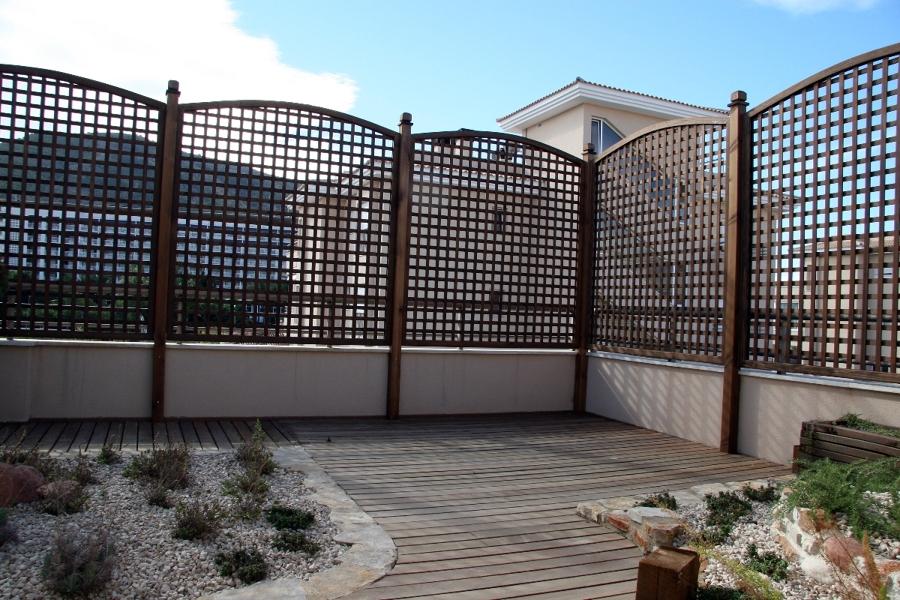 Foto celos as y decoraci n en tico de mariola garden - Celosias terrazas aticos ...