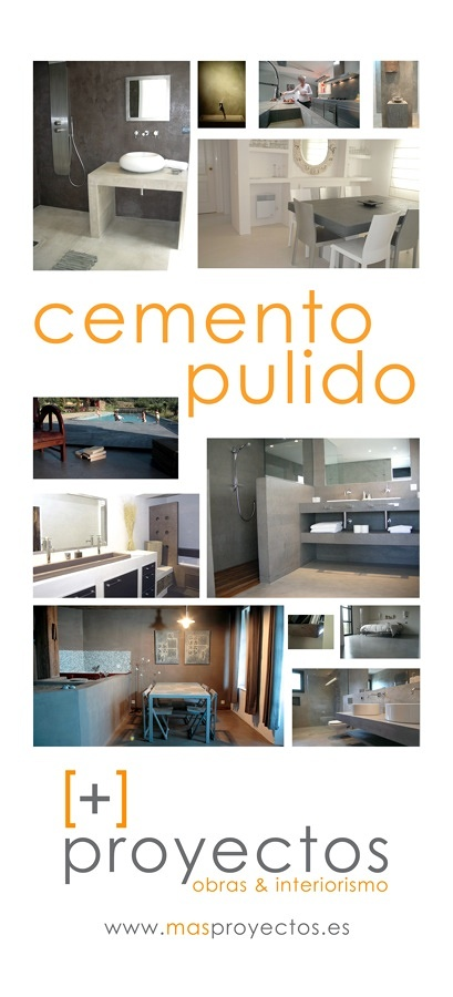 Foto cemento pulido revestimientos decorativos de - Cemento pulido exterior ...