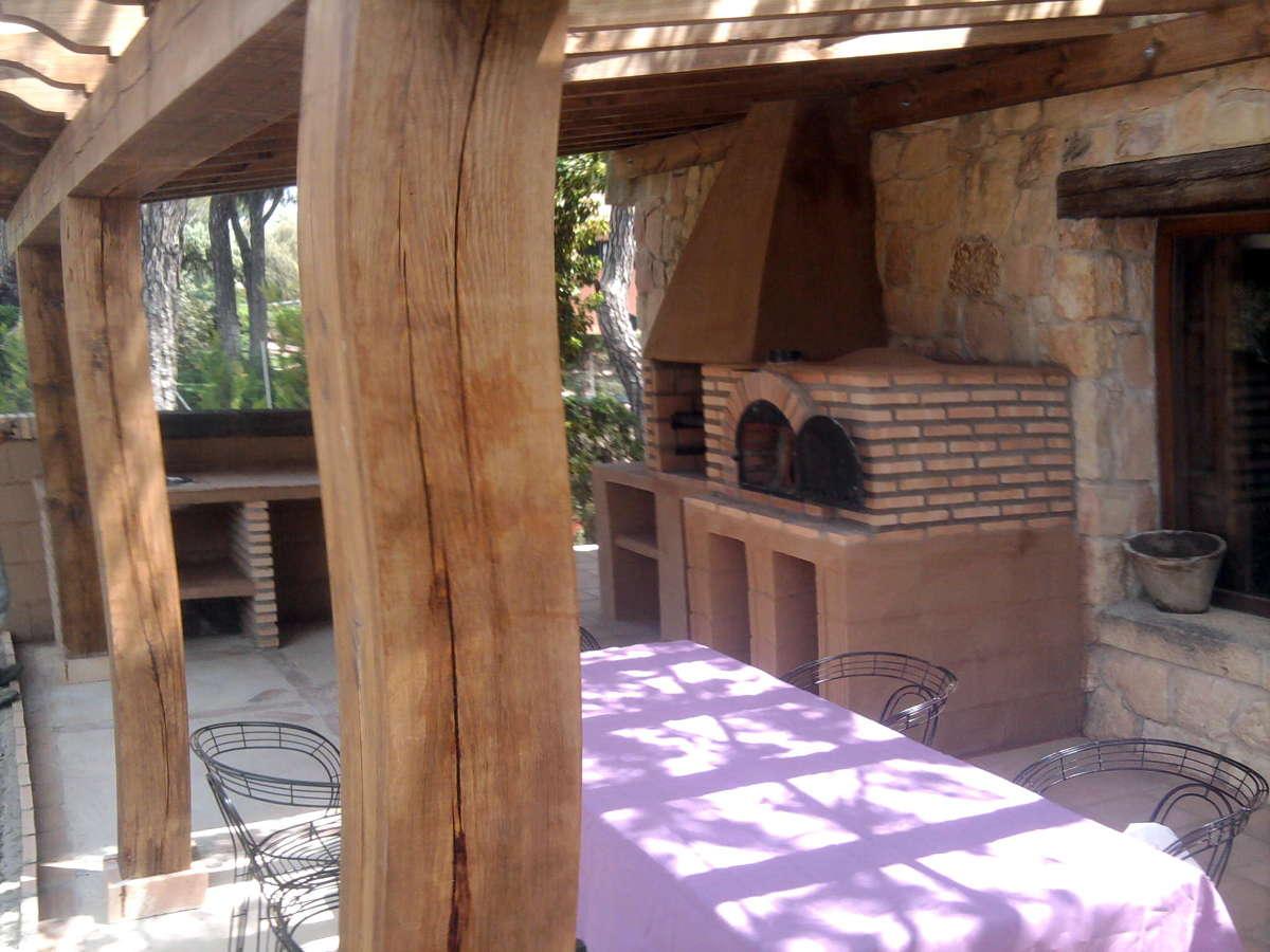 Foto cenador r stico de obra de reformas bp 337485 - Fotos porches rusticos ...