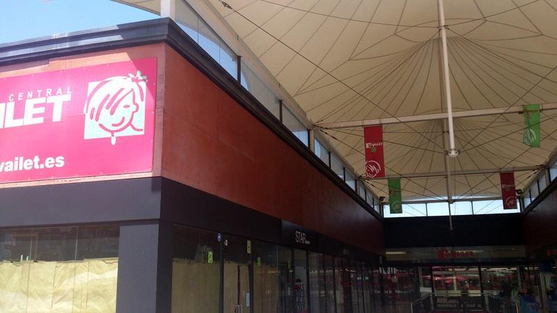 Centro Comercial LA VAILET. St. Vicens dels Horts