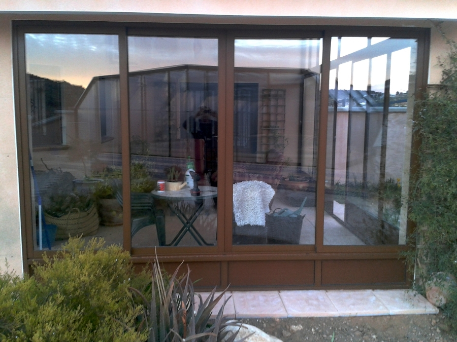 Foto cerramiento aluminio de pinos 403965 - Cerramiento aluminio porche ...