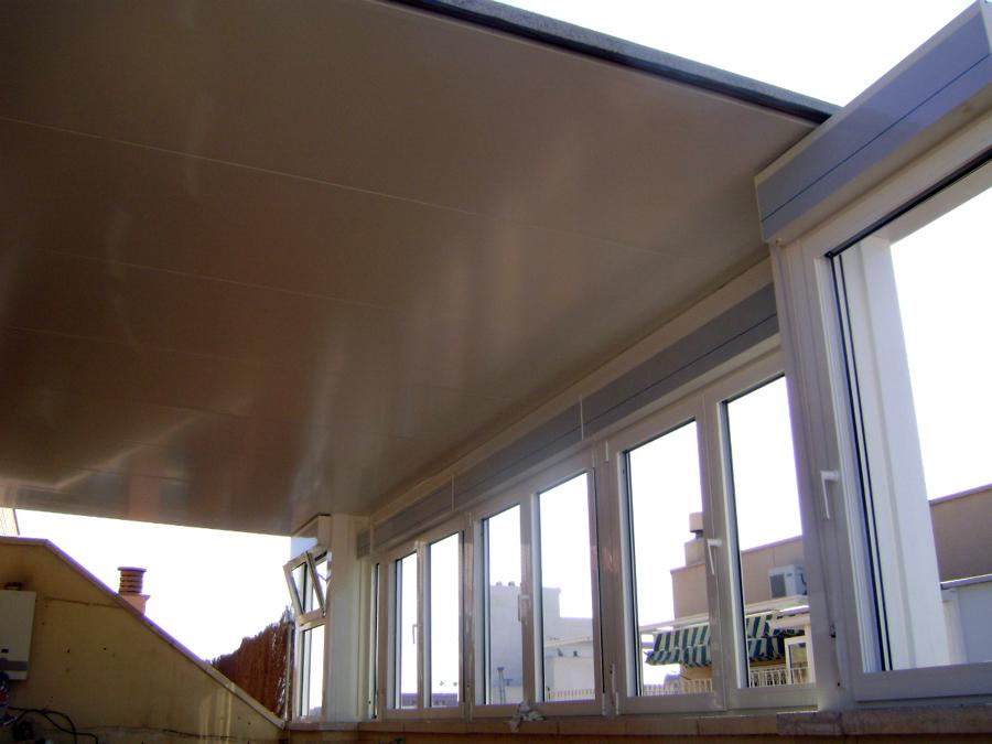 Foto cerramiento atico de ventanas y cerramientos marlo - Cerramientos aticos ...