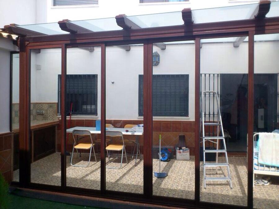 Foto cerramiento de aluminio y vidrios de aluminios nazarenos sl 448347 habitissimo - Cerramiento de aluminio ...