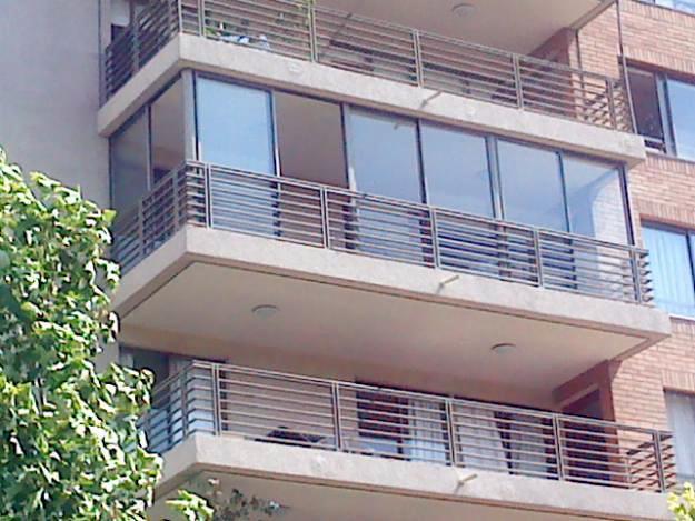foto cerramiento de balcon de aluminios aven 438730