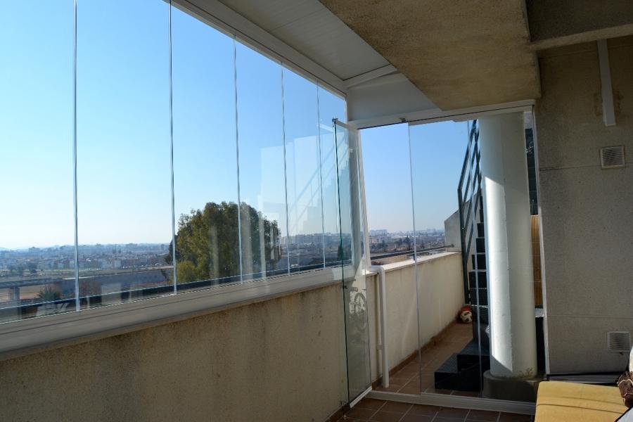 Foto cerramiento de cristal sin perfiles de hogarven - Cerramientos sin perfiles ...